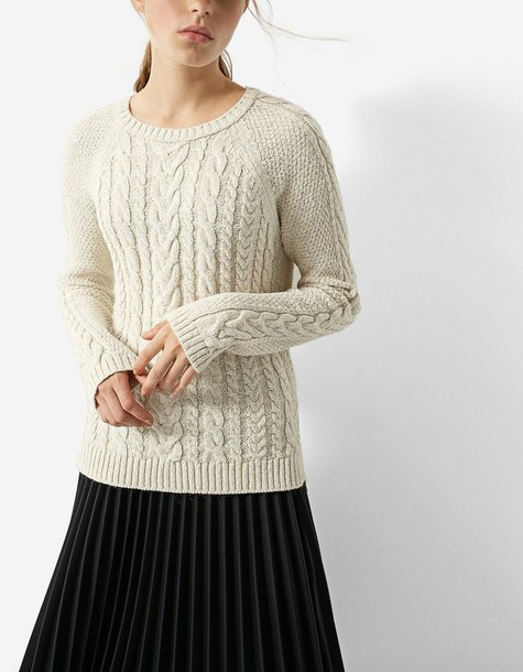 Stradivarius sweater basic knit