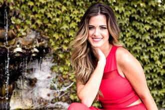 skirt jojo fletcher red two-piece red dress summer summer outfits tank top two piece dress set the bachelorette