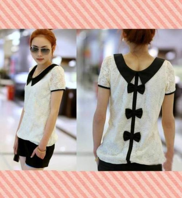 shirt korean fashion korean style korean fashion lolita ulzzang