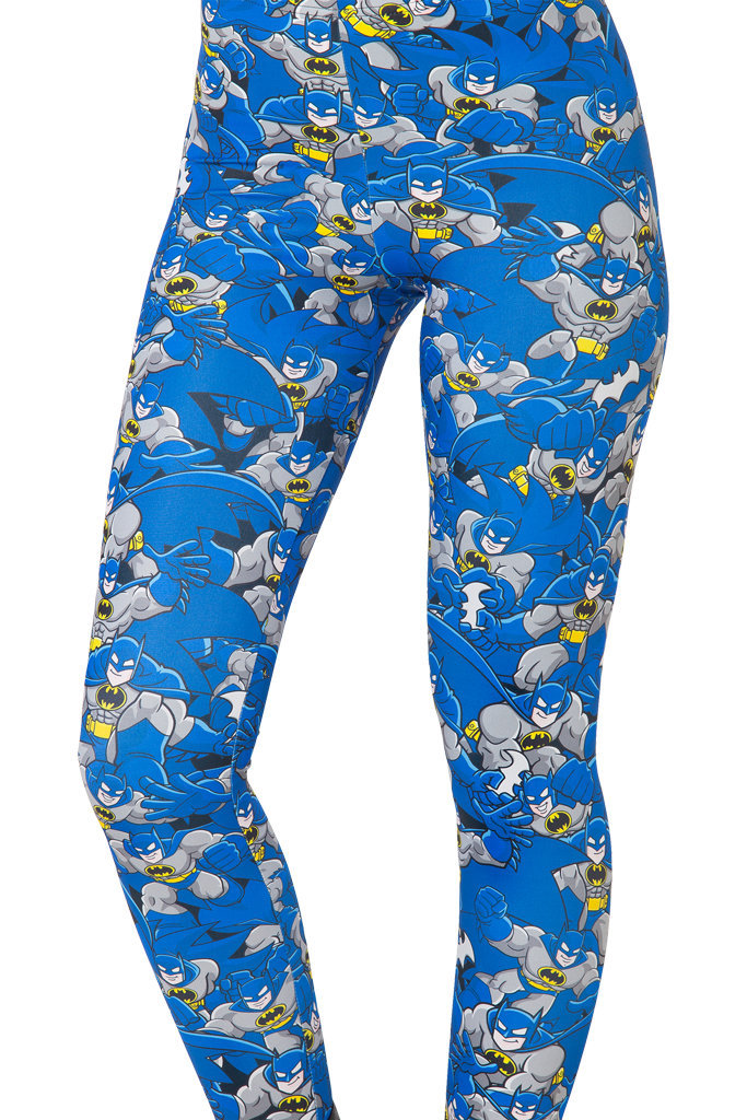 Blue bat galaxy digital print leggings from lacegirl on storenvy