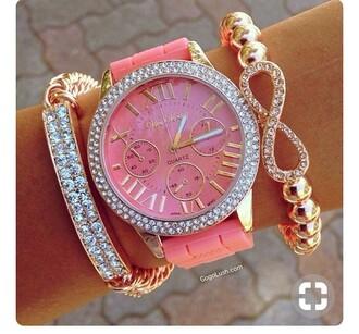 jewels truebeautyg truebeauty jewelry bracelets bracelet stack stacked bracelets beaded bracelet bling infinity accessories accessory