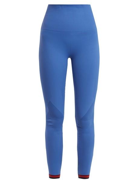 lndr leggings light blue light blue pants