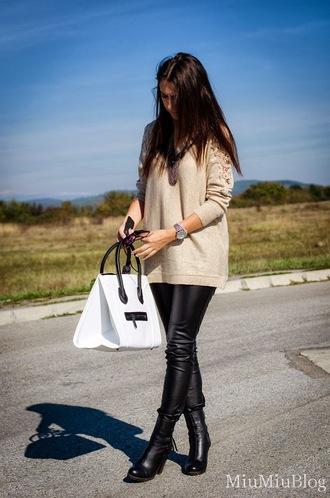 white bag bag white persunmall