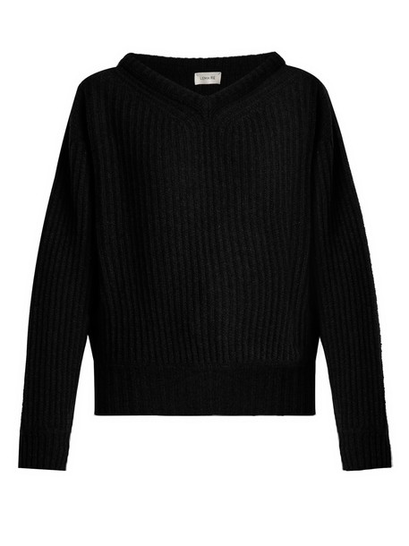 Lemaire sweater wool knit black