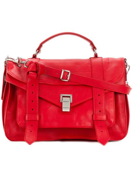 Proenza Schouler satchel women leather red bag