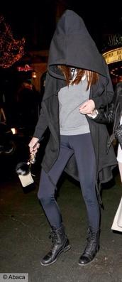 jacket,black,kendall jenner,hoodie