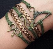 jewels,butterfly knot,bracelets,leather bracelet,infinity bracelet,hanger bracelet,hanger,infinity,bow