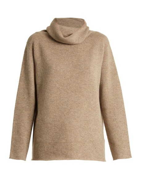 The Row sweater knit beige