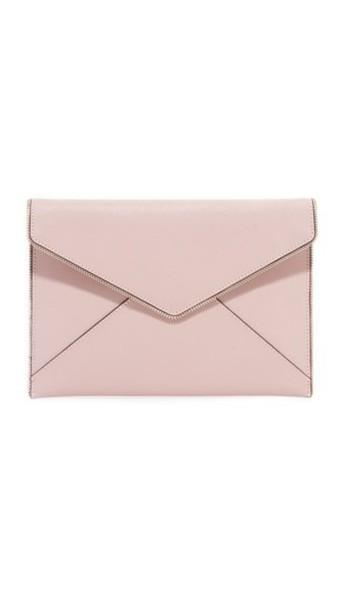 Rebecca Minkoff vintage clutch pink bag