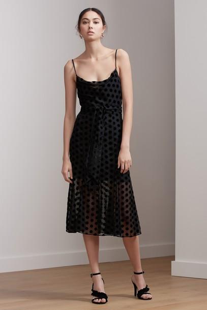 Keepsake dress midi dress midi black