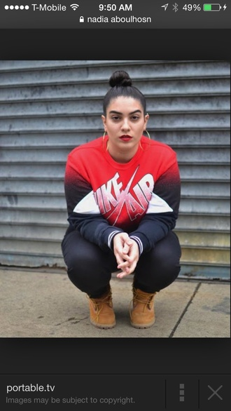 blouse fall outfits streetstyle tomboy streetwear nadiaaboulhosn