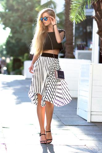 jewels skirt shoes top sunglasses sirma markova