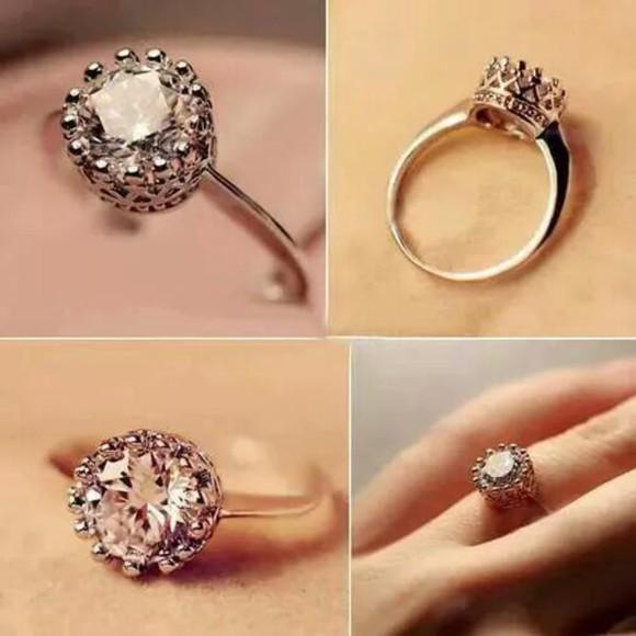 jewels ring princess diamonds