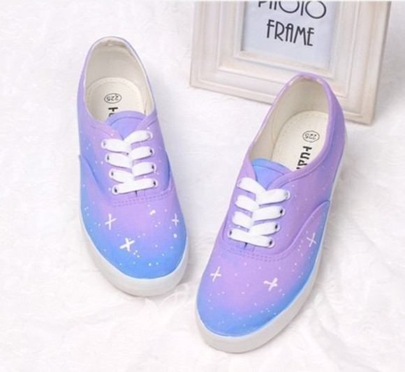 star blue shoes shoe canvas