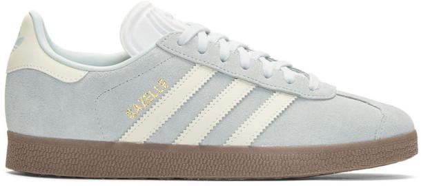 Adidas Originals sneakers blue suede shoes
