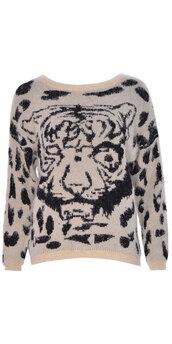 cardigan,ladies,knitwear,jumper,off-white,Ladies Nike Roshe Run Leopard Print Trainers Black White