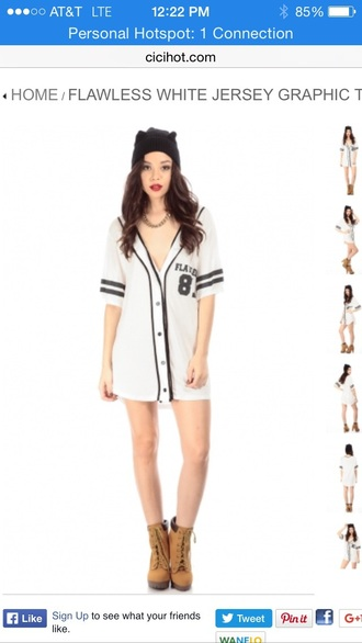 shirt white top jersey jersey tee shirt stripes