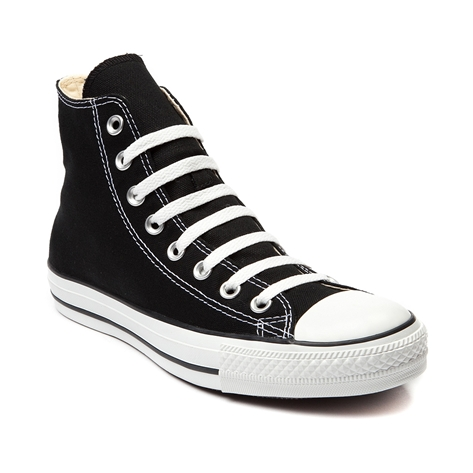 Converse All Star Hi Sneaker, Black, at Journeys Shoes