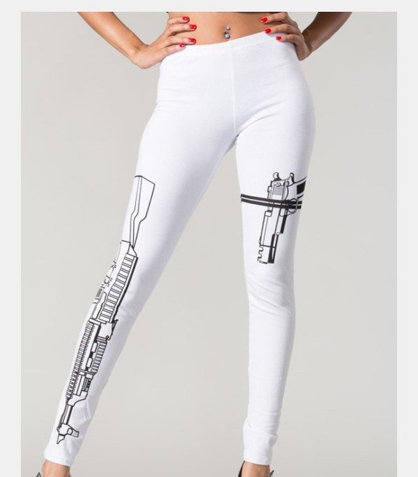 pants white choppa teyanna taylor