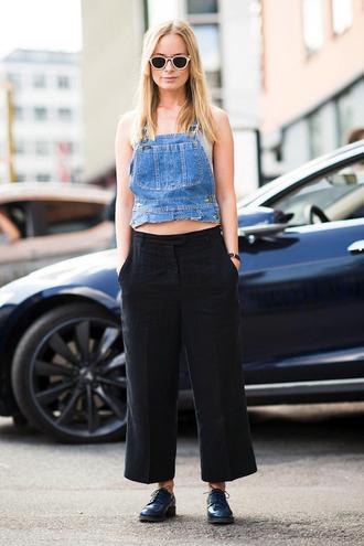 le fashion image blogger top underwear