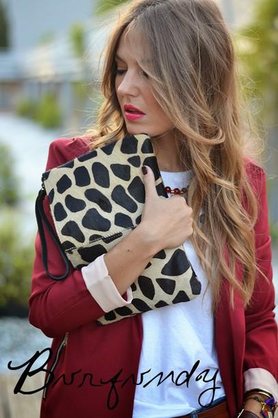 mi aventura con la moda blogger jacket jeans t-shirt jewels make-up