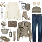 style archives | the style scribe,blogger,jeans,sweater,fall outfits,grey jacket,leather jacket,ankle boots,sneakers,clutch