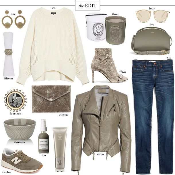 style archives   the style scribe blogger jeans sweater fall outfits grey jacket leather jacket ankle boots sneakers clutch