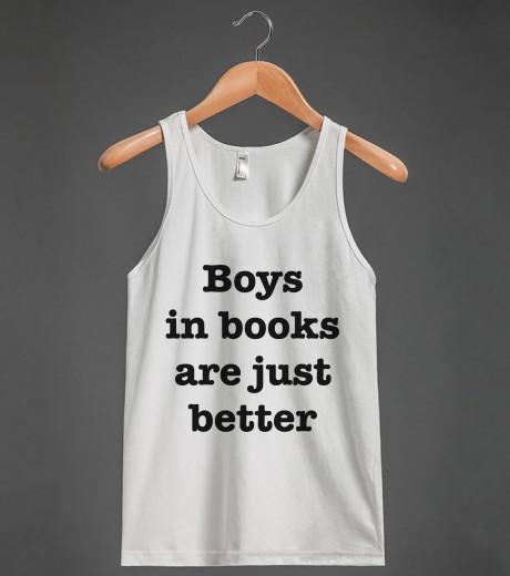 Boys In Books. Tank | Tank Top | Skreened