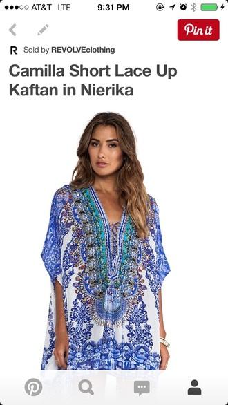 dress cover up kaftan