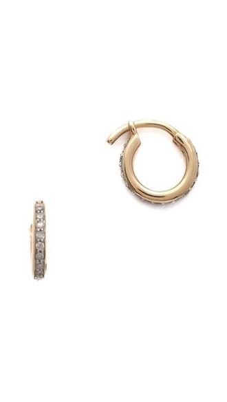 clear earrings hoop earrings gold jewels