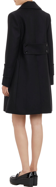 Button coat at barneys.com