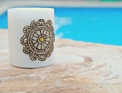 """""""circle of life"""" candle  · maheen · online store powered by storenvy"""