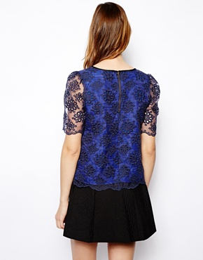 Darling | Darling Eliza Lace Top at ASOS