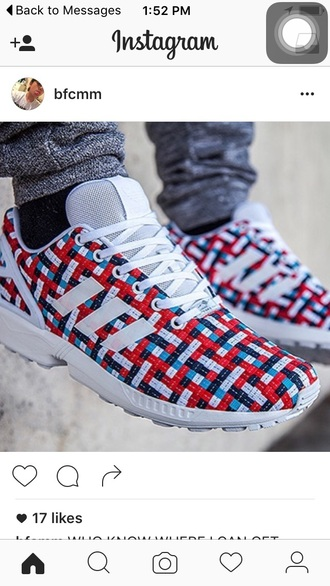 shoes adidas multicolor low top sneakers