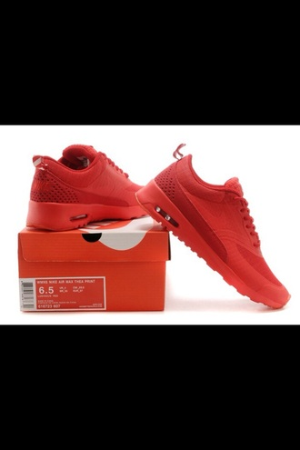 shoes nike shoes nike air max thea red shoes nike air