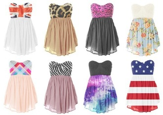 dress floral dress floral chiffon fashion style british flag uk leopard print zebra print chiffon dress galaxy dress usa flag american flag cheetah dress leopard dress