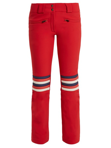 Perfect Moment flare red pants
