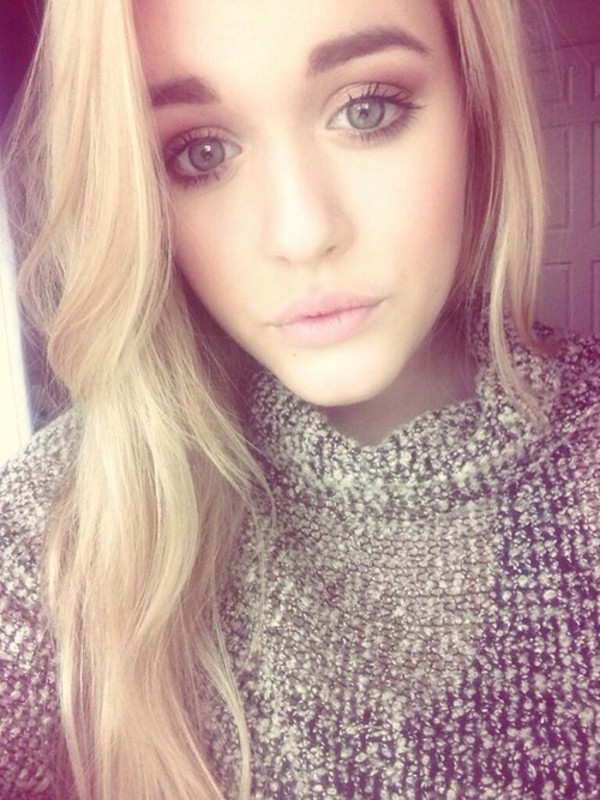 sweater lottie tomlinson grey white
