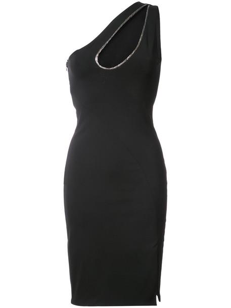Haney dress slit dress women slit spandex black