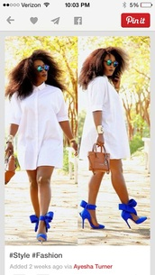 white dress,white,baddies,dope,shoes,heels,bow heels,heels color pumps wedges sexy,high-heels,pointy-to,dress,top