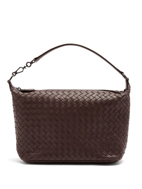 Bottega Veneta bag shoulder bag leather burgundy