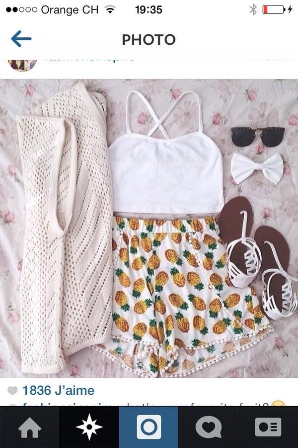 shorts ananas#shorts#