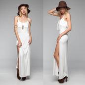 dress,angelic,angel,days,white,maxi dress,fashion,fashionista,makeup table,vanity row,dress to kill