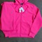 Women's polo sweat suit hot pink