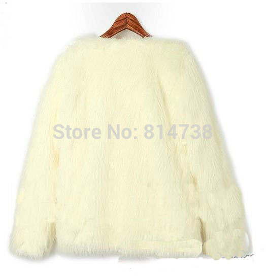 Wholesale! hot sell 2013 new arrival trendy candy womens faux fur vintage warm coat casual party jacket coat tops