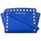 Michael michael kors mini 'selma' crossbody bag, women's, blue