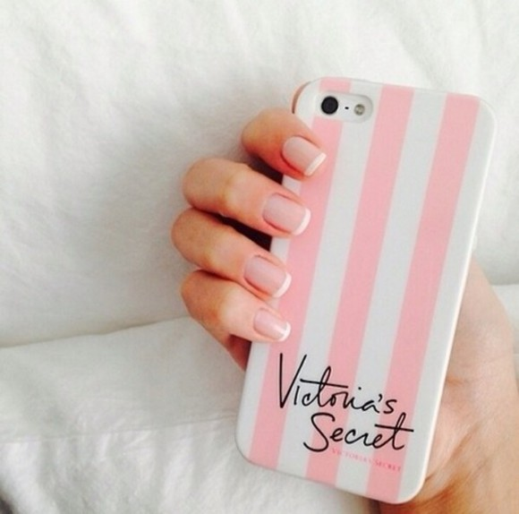 pink jewels cute victoria's secret i phone i phone case