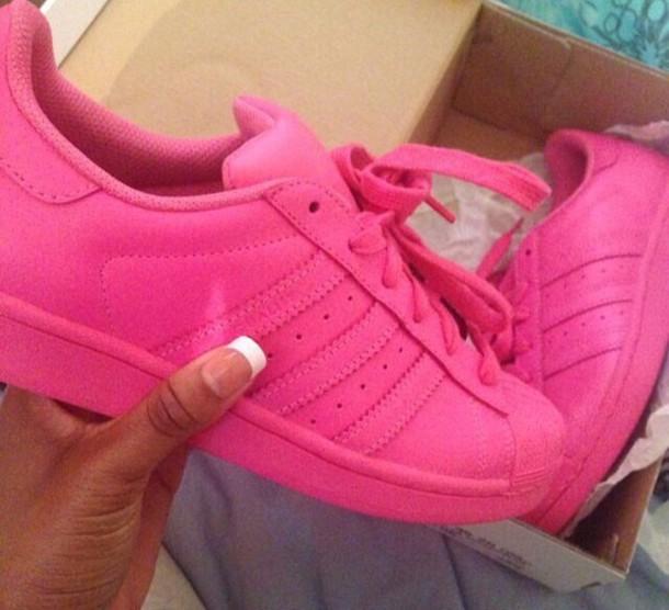 adidas superstar 2 pink