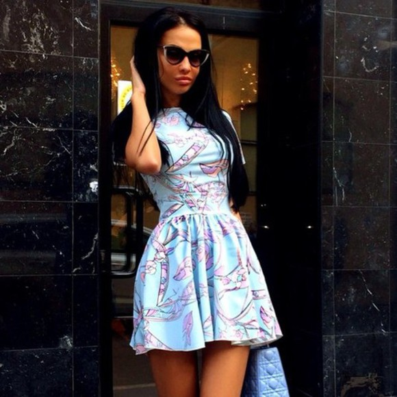 dress printed dress pastel pastel dress skater skirt skater dress mint mint dress print