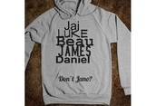 sweater,jai brooks,beau brooks,daniel sahoonie,james,janoskians,grey,sweatsirt,sweatshirt,hoodie,black,luke brooks